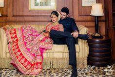 Bollywood Meets Television: Beautiful Wedding Story Of Nikitin Dheer And TV Actress Kratika Sengar - Yahoo Style India Indian Wedding Poses, Indian Wedding Couple Photography, Indian Wedding Photographer, Bridal Photography, Indian Bridal, Photography Ideas, Indian Wedding Receptions, Indian Weddings, Real Weddings