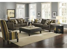 casa moda: modern, contemporary and stylish living room furniture Living Room Inspiration, Stylish Living Room Furniture, Home And Living, Furniture, Value City Furniture, American Signature Living Room, Home Decor, Cute Living Room, American Signature Furniture
