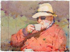 Ted Nuttall ~ Figurative Watercolour painter | Tutt'Art@ | Pittura * Scultura…