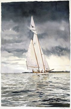 Marc Castelli Painting watercolor