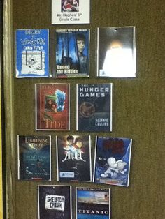 Vote on and display the top 10 books in your classroom.  Great way to encourage next year's group to read.
