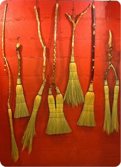Old Marsh Goat Brooms - crafted by hand using traditional methods and materials dating back to the 1790s
