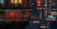 Tim and Adrien Soret, brothers from Paris, were quietly developing a Studio Ghibli-inspired dark fantasy game when the Cyberpunk Jam digitally rolled into town...