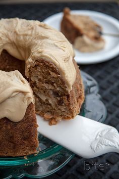 Chunky Apple Walnut Cake ~ when I was reading this recipe on the blog, I wanted to lick the beater so bad. I think I'll make it soon just so I can!