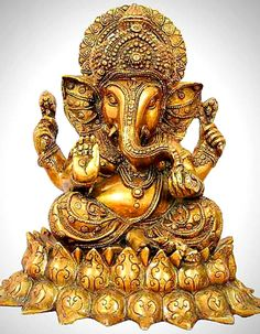Showpieces Idols Brass Ganesha Statue Costs Rs 19 500 Handicrafts