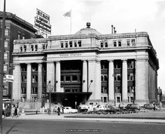 Old Union Station on Rideau St; built in 1912