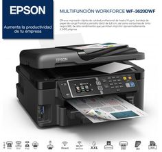 Impresión rápida y de calidad con la Epson WorkForce WF-3620DWF