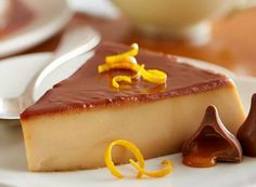 End your day on a sweet note with KISSES Caramel Flan!