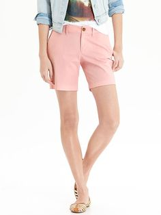 """Women's Stretch Twill Shorts (7"""") Product Image"""
