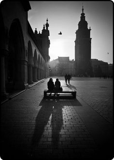 Krakow…  just chill out in the sunshine