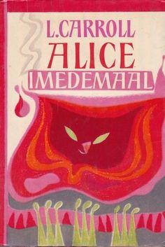 "an estonian edition of ""alice in wonderland"" - i think the illustrator is v. tolli"