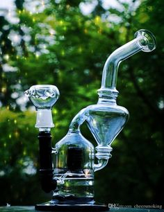 In Stock Glass Bongs Water Pipes With Disk 25 Cm Recylers Oil Rigs Glass Bongs Joint Size 14.4mm Two Functions Smoking Hookahs From Cheersmoking, $25.93 | Dhgate.Com