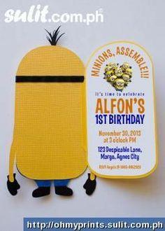 Minion Party and ideas Minion Theme, Minion Birthday, Boy Birthday, Birthday Ideas, Diy Party, Party Gifts, Party Ideas, Minion Party Invitations, Despicable Me Party
