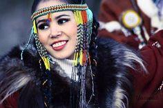 Native Koryak Smile from Siberian Kamchatka, (Northeast Asia)     -The Koryaks are indigeneous to northeast of Siberia, to the northern part of the Kamchatka Peninsula and to the adjoining mainland from the Taigonos Peninsula to the Bering Sea.