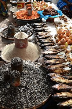 """Basse market, The Gambia"" West Africa by C. Paises Da Africa, Out Of Africa, West Africa, Food Trucks, Street Food Market, Cap Vert, African Market, Traditional Market, African Countries"