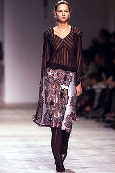Alexandre Matthieu Fall 2002 Ready-to-Wear Fashion Show - Candela (CITY)