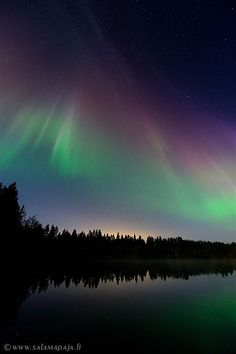 Solar Storms Ignite Awesome Auroras - NBC News.com Thomas Kast saw these lights near Yli-Ii, Finland, on Sept. 12.
