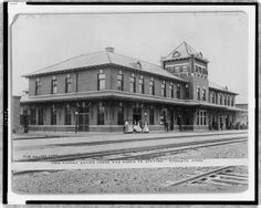 1900s  Santa Fe Station in Chanute, Kansas.