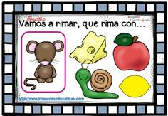Rimas infantiles, que rima con.. (13) Bilingual Education, Writing Art, Blended Learning, Teaching Materials, Kindergarten Math, Speech Therapy, Special Education, Preschool Activities, Literacy