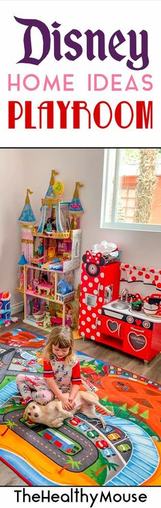 Disney home ideas - Disney playroom, art room and class room set up ideas for a Disney lover's home!