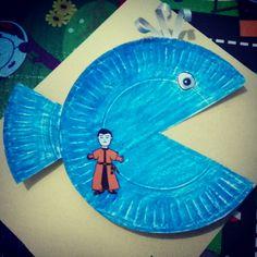 Jonah and the Big fish activity craft