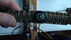 Paracord bracelet instructions how to make a paracord bracelet using the fire starter whistle buckle and the compass. This will be the king cobra weave and we will show you how to add the compass.