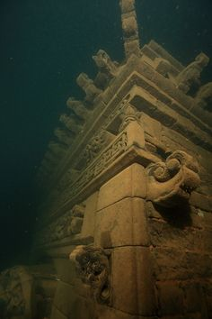 Abandoned places underwater | Lion City (Shicheng City), China