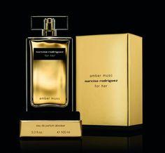 Narciso Rodriguez Amber Musc: кликните для увеличения изображения Narciso Rodriguez, Amber, Perfume Bottles, Perfume Bottle, Ivy