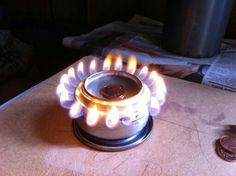 Backpack Stove