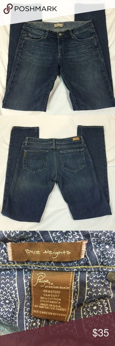 Paige SZ 30 Jeans with 32in inseam Paige SZ 30 Jeans with 32in inseam Paige Jeans Jeans