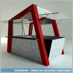 Mobile Kiosk, Small Coffee Shop, Food Places, Booth Design, Architecture, Storage, Food Carts, Food Trucks, Booth Ideas