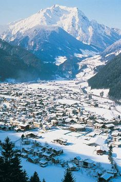 I had my first ski trip and skiing accident in - Mayrhofen, Austria. Ski Austria, Tyrol Austria, Hallstatt, Best Ski Resorts, Ski Holidays, Ski Chalet, Ski And Snowboard, Snowboard Gloves, Innsbruck