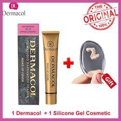 Dermacol Base primer corrector concealer cream makeup base tatoo concealer face foundation contour palette 30g free shipping