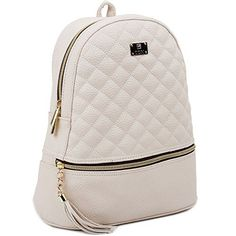 Up to 56% Off Copi Backpacks and Purses ~ Quilted Backpacks Only $27.68 **Today Only** Leather Backpacks For Girls, Cool Backpacks, Casual Backpacks, Quilted Backpacks, Sport Chic, Small Backpack, Backpack Purse, Fashion Bags, Fashion Backpack