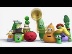 All Official VeggieTales Theme Songs Silly Songs With Larry, Veggietales, Baby Kind, Theme Song, Cartoon, Christmas Ornaments, Games, Toys, Animals