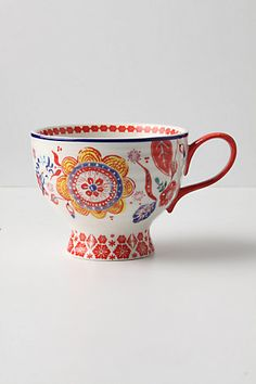 Tea cup - Gorgeous, one of my favorites, lovely colors and shape
