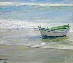 Безруков Петр - 'Лодка и море'