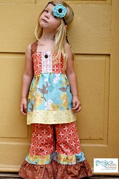 Happy Harvest Thanksgiving toddler girl outfit -- yeah.... I need these pants