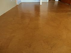 Brown Paper Floor, looks like leather {Live 'n' Learn Farm}
