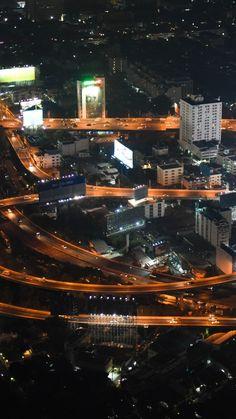 Bangkok Traffic at Night by Julien Gosset on 500px