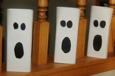 ghost decorations | simple halloween ghost decor craft