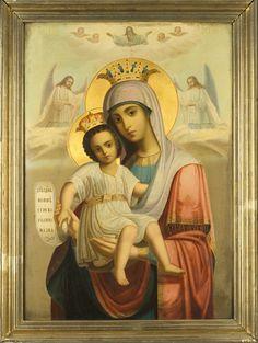 25_dostojno_est.gif (678×900) Roman Church, Orthodox Christianity, Mother And Child, Ikon, Madonna, Jesus Christ, Catholic, Saints, Spirit