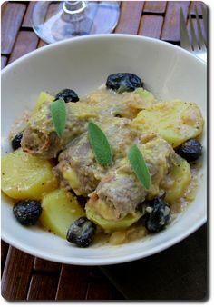 Roulades de viande farcies au jambon, fromage et sauge à la moutarde