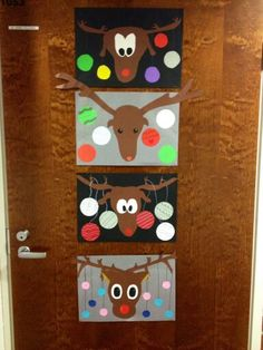 Christmas Arts And Crafts, Crafts For Kids, Clock, Holiday Decor, Winter, Wall, Home Decor, Children, Crafts For Children
