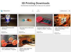 Looking for some new #3dprinting creations? Check out our new #3D Design Hub on #pinterest! http://ift.tt/1XFA0qG ____________ #velleman #vellemanstore #k8200 #k8400 #vertex k8400 #thingiverse #3dprint #3dprinter #filament #colorfab #maker #geek #tech #technology