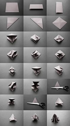 Origami natalizi | Vita su Marte