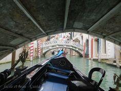 facile et beau - Gusta: Venedig Teil 4: eine Gondelfahrt