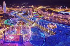 ハウステンボスの花と光の王国イルミネーション世界最大の絶景? - Find Travel