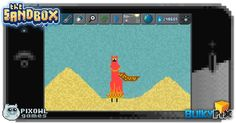 A tribute to the game Journey  #pixelart #sandbox #pixel #art #ios #iphone