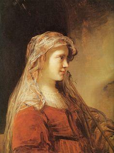 Govert Flinck - Portret van een jonge vrouw